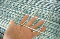 The welded wire mesh production process