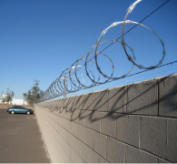 Razor wire fence play a very good deterrent effect