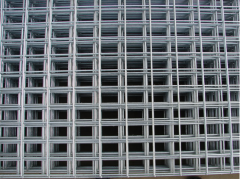 Introduction of welded wire mesh